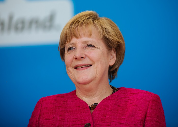 Pour Angela Merkel, l'accueil des réfugiés est une donnée positive pour l'Allemagne