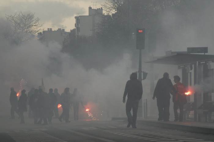 L'indignation est grande à Paris