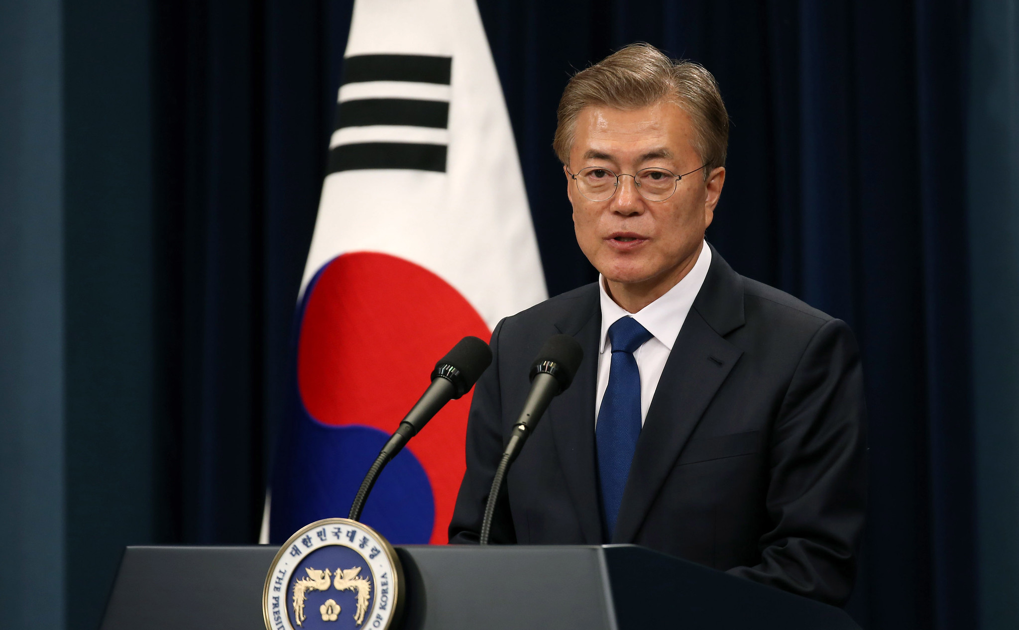 Moon Jae-in (Photo : Flickr/Creative Commons)
